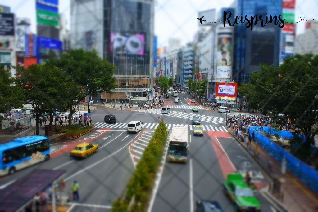De Shibuya crossing in Tokyo