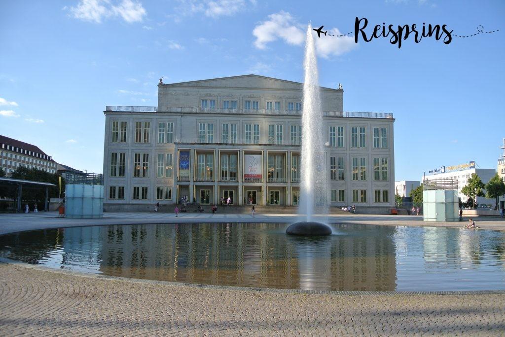 Opernhaus van Leipzig