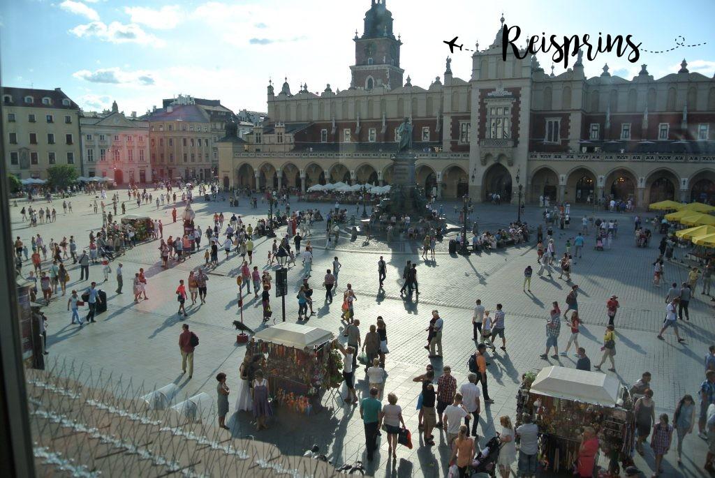 De Grote Markt van Krakau