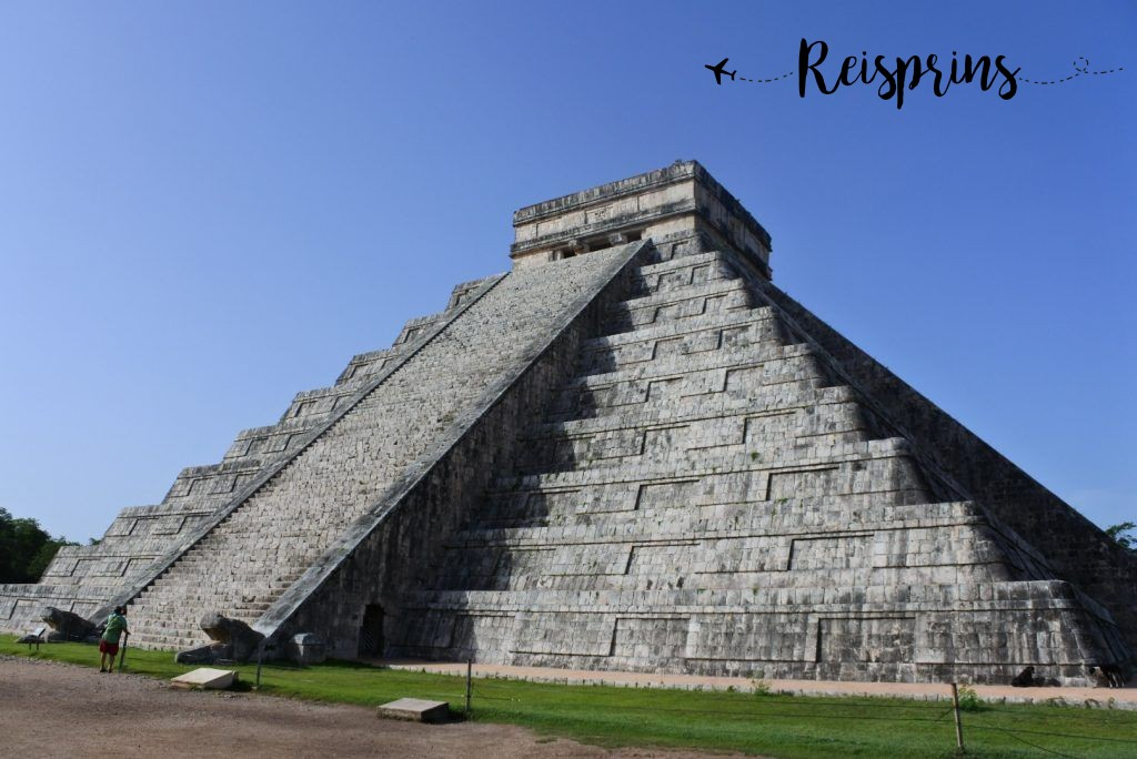 Het wereldberoemde Chichén Itzá in Mexico