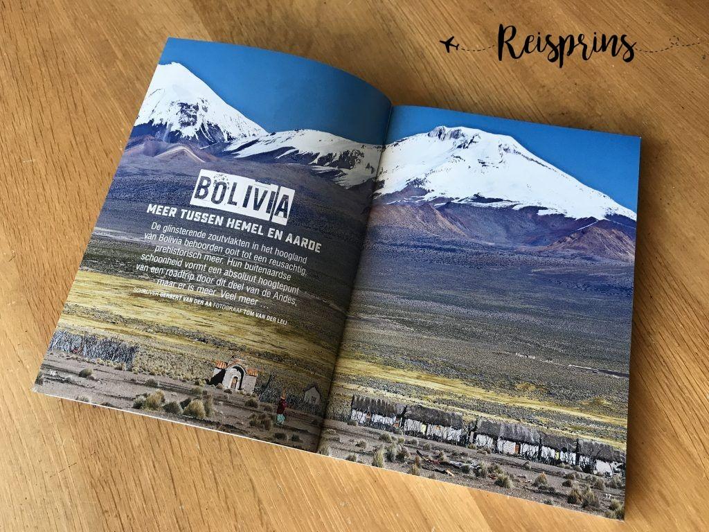 Bolivia wordt uitgebreid besproken.