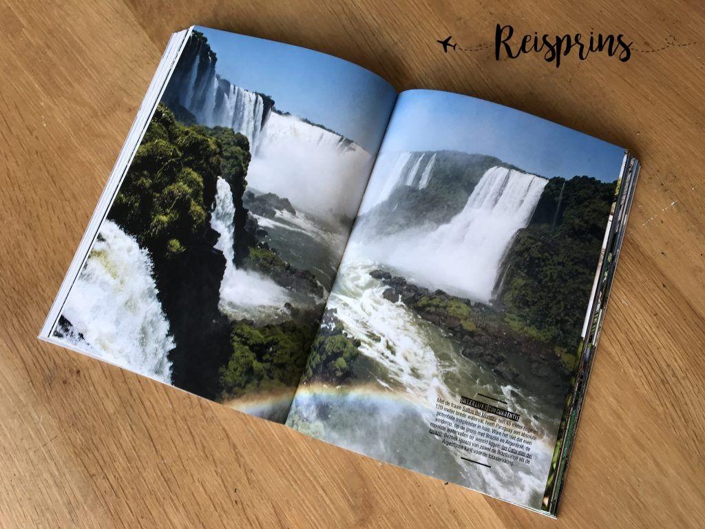 De watervallen van Iguazu worden ook uitgebreid besproken.