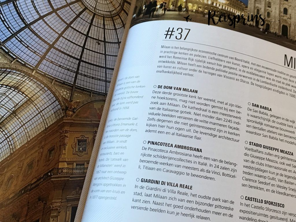 De grootste bezienswaardigheden van Milaan kan je heel eenvoudig vinden in Fijn weekend ANWB.