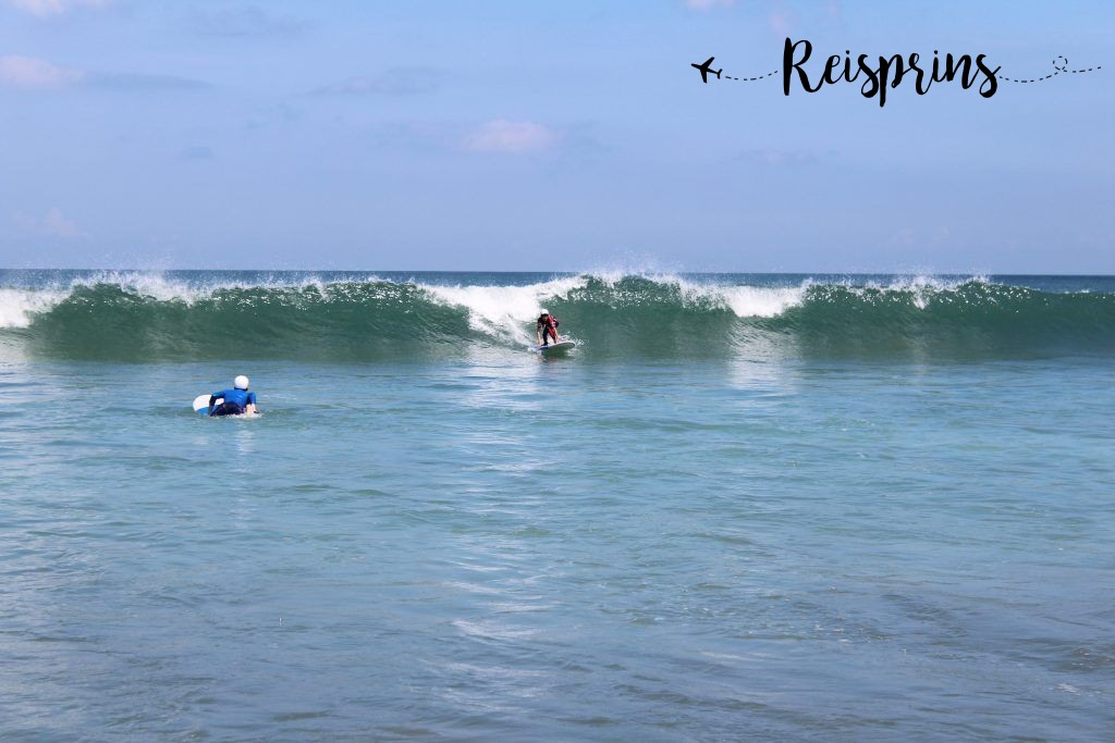 Surfen op Bali.