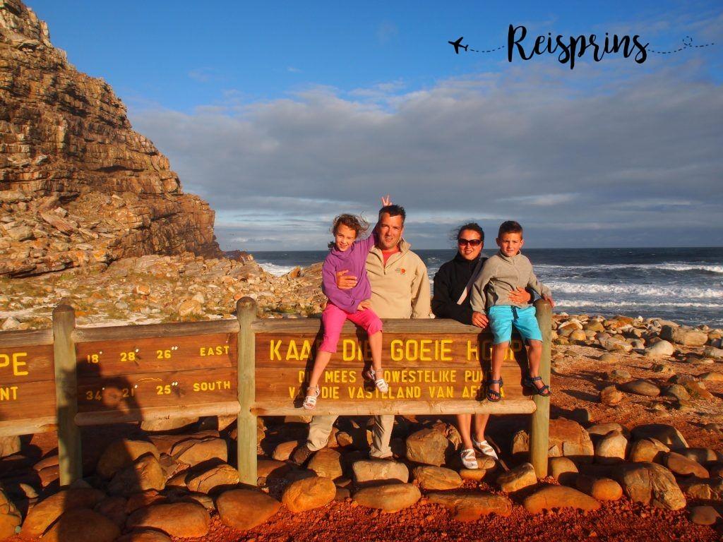 Een familiefoto uit in Zuid-Afrika uit het archief.