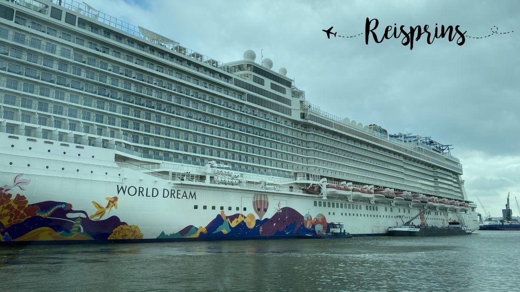 Een gigantisch cruiseschip