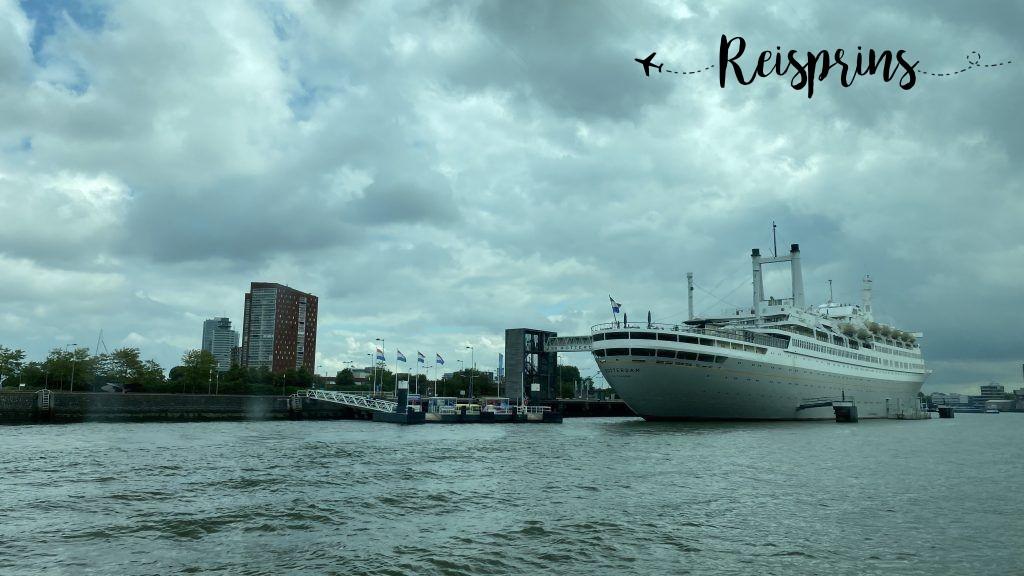 Natuurlijk mag de SS Rotterdam niet ontbreken.
