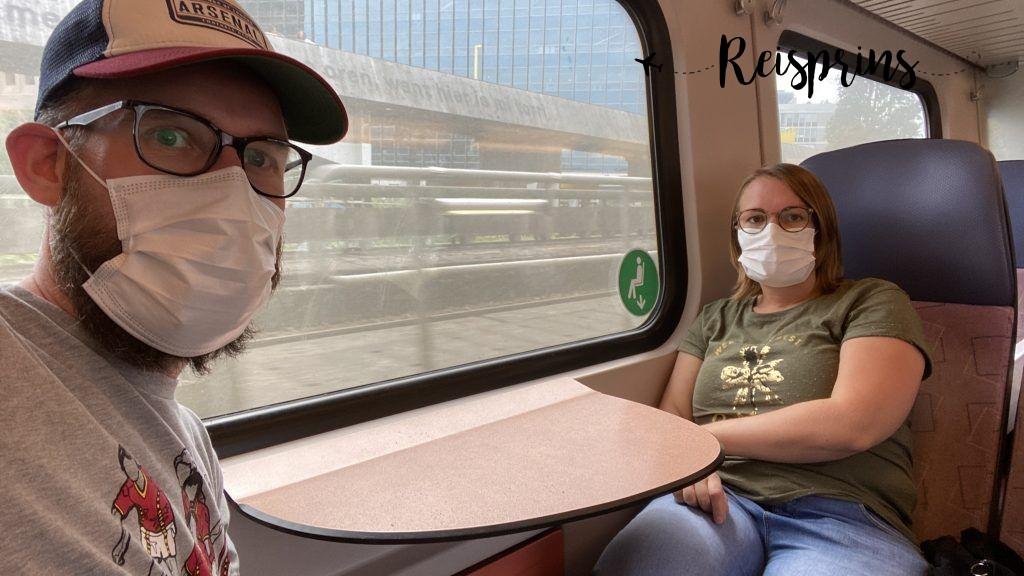 ..en weer in de trein terug naar huis!