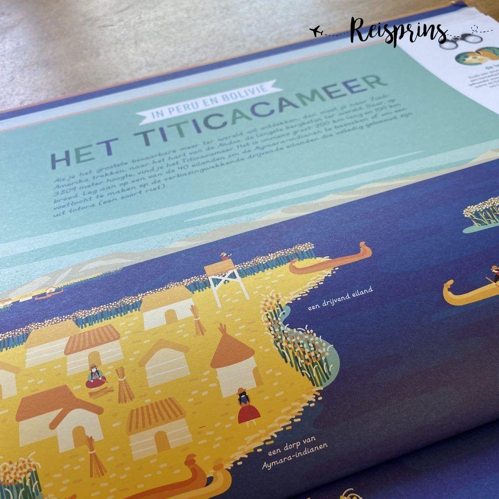 Ook het Titicacameer wordt utigebreid besproken in het boek.