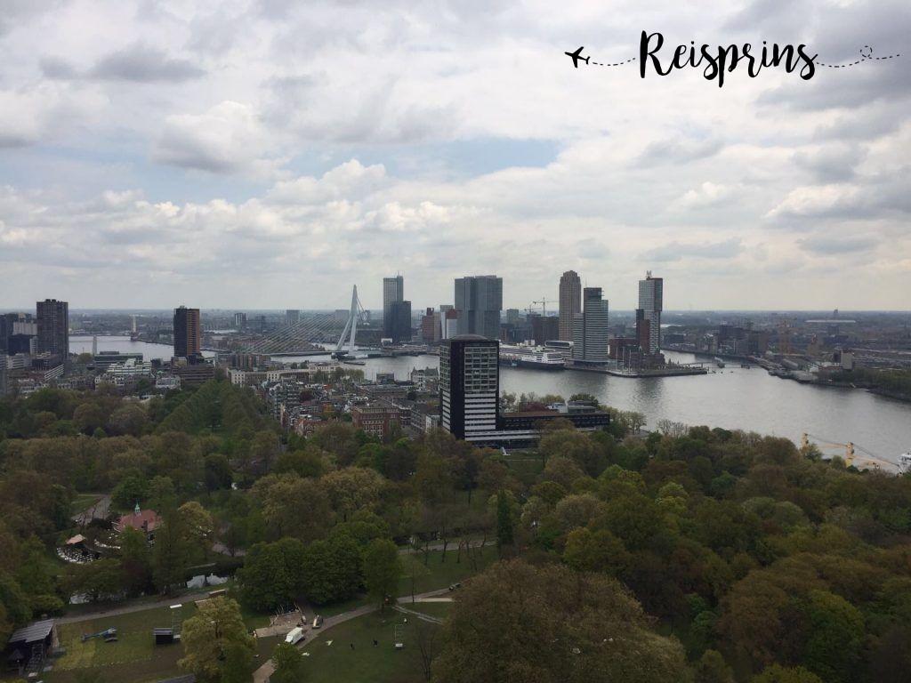 Uitzicht vanaf de Euromast