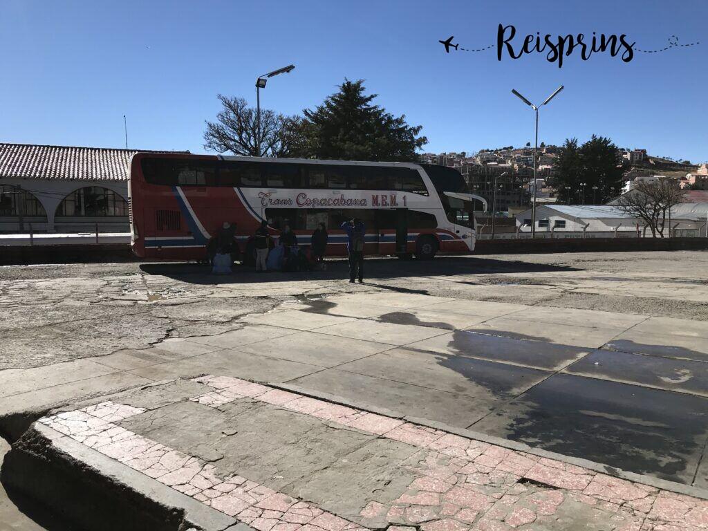 De bus van Copacabana 1 MEM...of toch Trans Copacabana SA?
