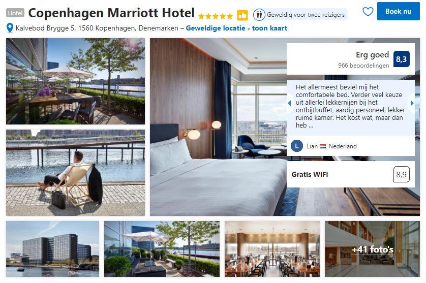 Het Copenhagen Marriott Hotel zoals je het kan vinden op Booking.com